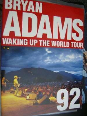 Bryan Adams Waking Up The World Tour 92 Program Book
