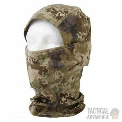 Jungle Camouflage Mesh Balaclava Face Mask Cover Sniper Hood Veil Airsoft Snood