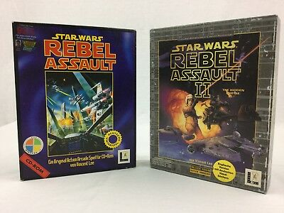 Lucasarts, Star Wars: Rebel Assault Bundle (I & II), PC