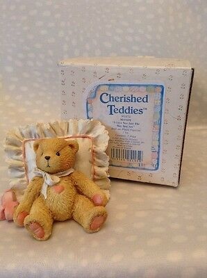 Cherished Teddies Mandy I Love You Just The Way You Are 1991 Item 950572
