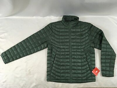 The North Face Men's Thermoball Full Zip Jacket Duck Green L