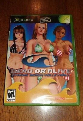 Dead or Alive: Xtreme Beach Volleyball (Xbox 2003) VERY GOOD COMPLETE LENTICULAR