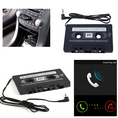 Car Audio Tape Cassette To Jack AUX For iPod/MP3/iPhone Converter Adapter