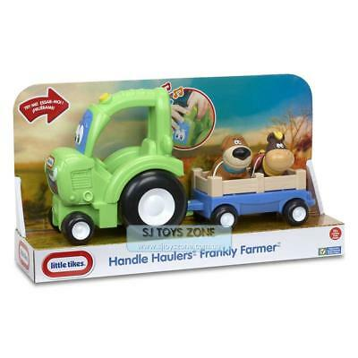 Little Tikes Handle Haulers Frankly Farmer Toddler Deluxe Toy Tractor with Sound