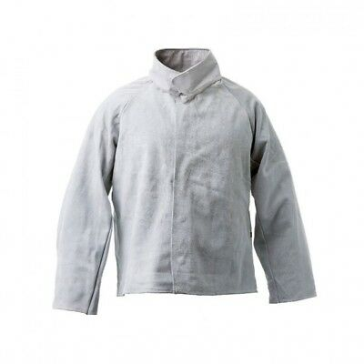 Quality Leather Welding Jacket - Grey