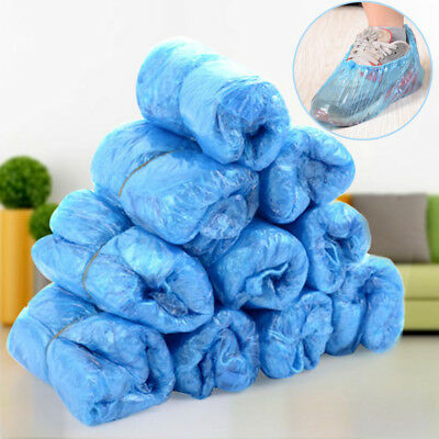 100x Disposable Shoe Cover Slippers Socks Carpet Cleaning Medical Hygiene
