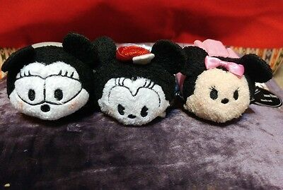 NWT AUTHENTIC Disney Store JAPAN Minnie Mouse Tsum Tsums US SELLER