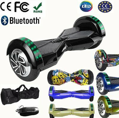 6.5 Inch Hoverboard Overboard Skate Scooter Electrique Bluetooth Débutants @ LE