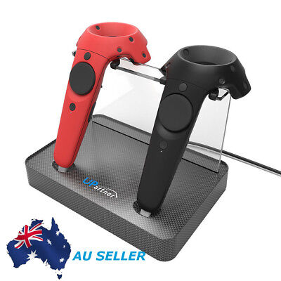 AU Wireless Controller UPARTNER Magnetic Dual Charger Stand Holder For HTC VIVE