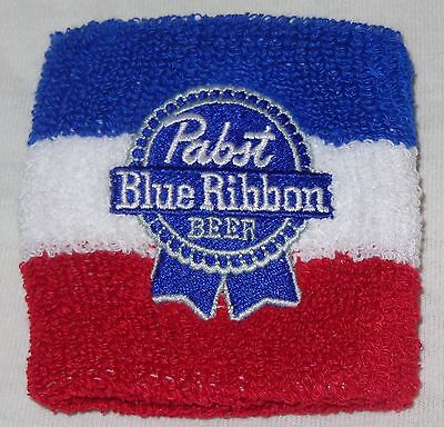 Pabst Blue Ribbon Beer - Bartender Wrist Band...Red, White & Blue...NEW