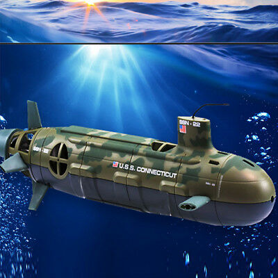 Seawolf Nuclear Submarine Remote Control Toy 6 Channel RC Diving Boat Xmas Gift