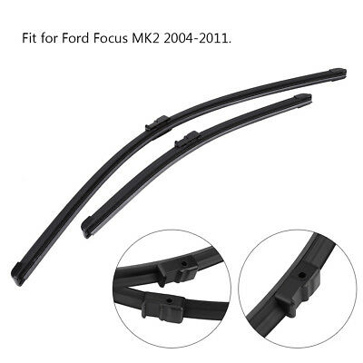 "26""+17"" Car Front Windshield Wiper Blades Left Right for Ford Focus MK2 04-11"