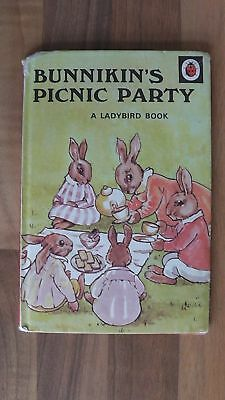 ladybird book, Bunnikin's Picnic Party, Series 401