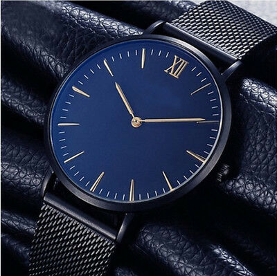 Fashion Women Men Gilr Fashion Watch Stainless Steel Classic Dress Wrist Watches