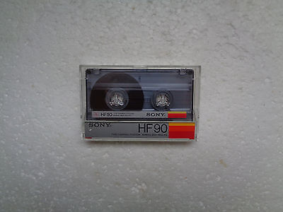 Vintage Audio Cassette SONY HF 90 From 1985 - Fantastic Condition !!