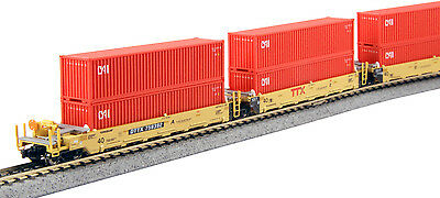 kato 106-6192 maxi-I double stack 5 unit set TTX / CAI CONTAINERS