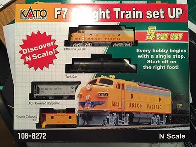 Kato 106-6272 f7 freight  *UNION PACIFIC*  >> OPTIONS AVALIBLE  M-1 TRAC ,DCC, ?