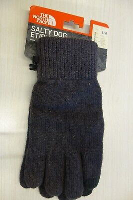 $35 NWT The North Face M's Salty Dog Etip Gloves Grey or Black Sz L XL