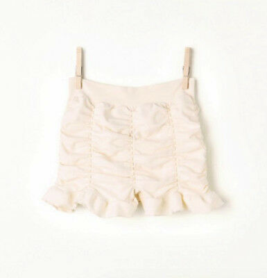 NEW Free People Intimately Ruched Seamless Shorts Ivory Size XS/S & M/L $49.78