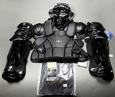 Champro Professional Varsity Umpire Complete Gear Set Black (NEW) Lists for $199