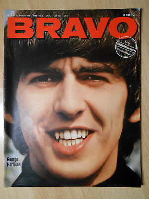 Bravo 8/1966 Beatles, Roy Black, Sylvie Vartan - TOP