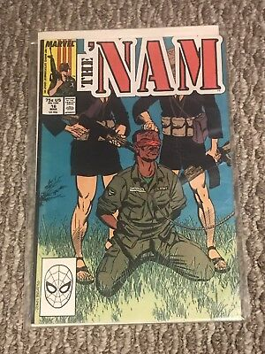 The 'Nam #16 (MARCH, 1987) Comic Book on Cardboard Marvel