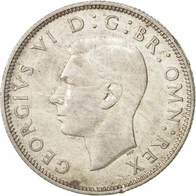 [#410048] Great Britain, George VI, Florin, Two Shillings, 1943, EF(40-45)