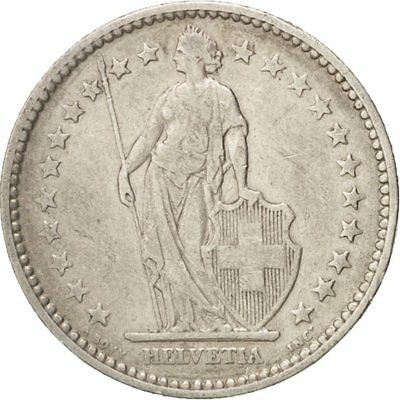 [#407127] Switzerland, 2 Francs, 1886, Bern, VF(30-35), Silver, KM:21