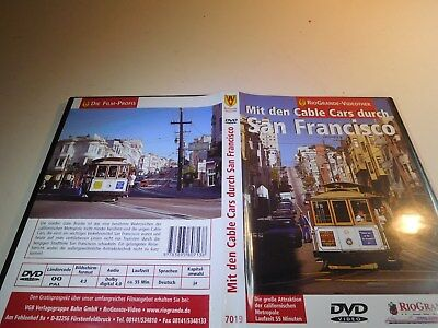 ++ DVD RV 7019 Mit den Cable Cars durch San Francisco