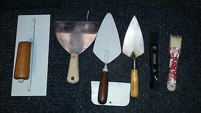 6 Mixed lot of Concrete and Drywall Tools
