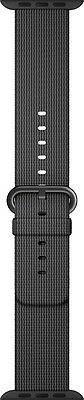 Open-Box Excellent: Apple - Woven Nylon for Apple Watch 42mm - Black
