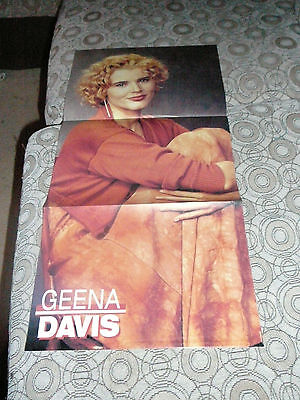 GEENA DAVIS THELMA & LOUISE PIN UP POSTER PHOTO AFFICHE 11 x 23 CLIPPING