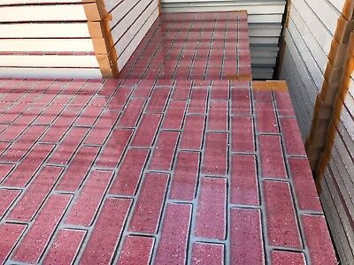 Red Bricks External Wall Panel 75mm Sandwich Coolroom Panels EPS Panels
