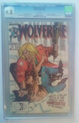 Wolverine #10  CGC 9.8 Wolverine  Vs. Sabretooth   $5 COMBINED SHIPPING FLAT