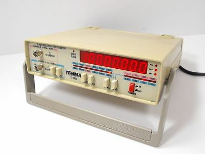 Tenma Model 72-5005  2.4 GHz Multifunction Frequency Counter Working Condition