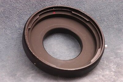 Vintage Novoflex  Hasselblad Lens Adapter - Made In Germany - Free Usa Delivery