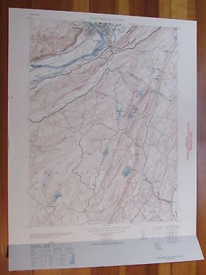 Port Jervis South New Jersey 1953 Original Vintage USGS Topo Map