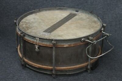 "German_Marching Snare Drum_Marked ""Otto Seele, Leipzig""_Historical Piece_XX_RARE"