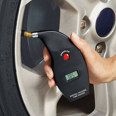 New 100 PSI Digital Talking Tire Gauge with LCD Display