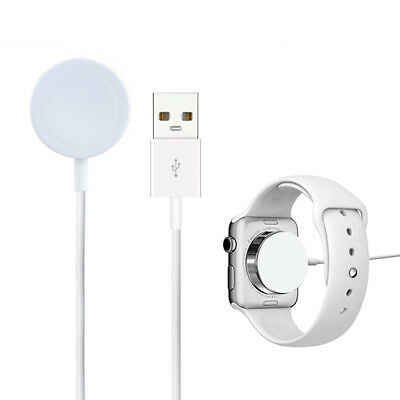 For Apple Watch 1 2 3 iWatch 38mm & 42mm Magnetic Charger Charging Pad Cable NEW