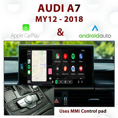 AUDI A6 C7 2012 - 2018 - Original MMI integrated Touch Android Auto