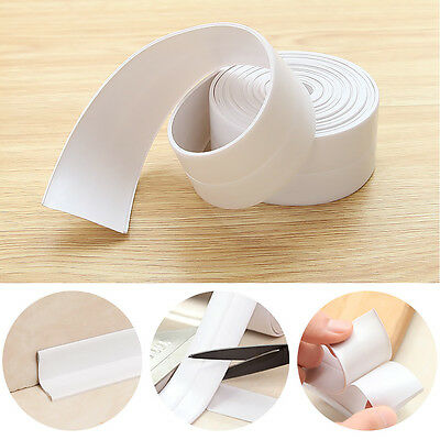 5M * 22MM White Bath And Wall Sealing Strip Self Adhesive Tape Sink Basin Edge