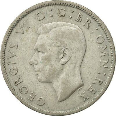 [#467064] Great Britain, George VI, Florin, Two Shillings, 1943, EF(40-45)