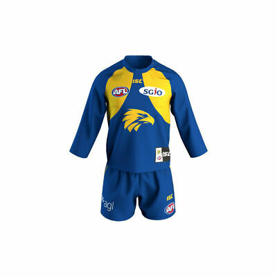 West Coast Eagles AFL 2018 Home ISC Guernsey Adults, Kids & Toddlers All Sizes!