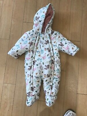 John Lewis Baby Girl Snow Suit