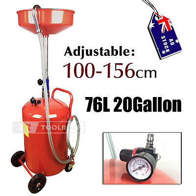 Toolrock Workshop Garage Portable Waste Oil Drainer Extractor 76L