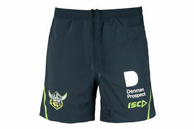 Canberra Raiders NRL 2018 Players ISC Training Shorts Sizes S-5XL & Kids!