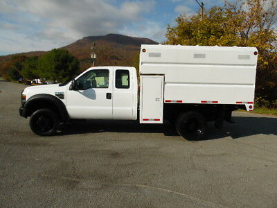 2008 Ford F-550 Extended Cab 4X4 Chipper Dump Truck Forestry Arborist