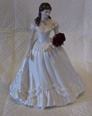 Royal Worcester Limited Edition Figure - CW468 Year 2000 Anniversary