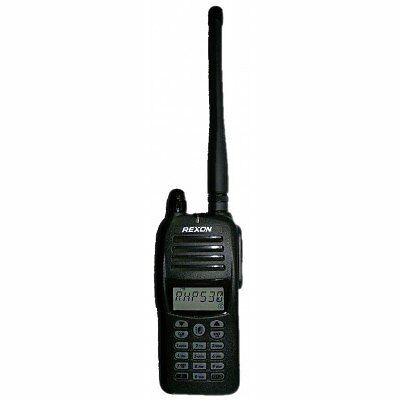Rexon Air Band Handheld Radio / Transceiver, RHP-530 COM & VOR w/ Li-ion Battery